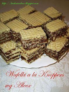 Wafelki � la Knoppers wg Aleex