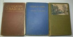 3 Vintage Joseph Lincoln Books, Storm Girl, Ken Knowles, Extricating Obadiah