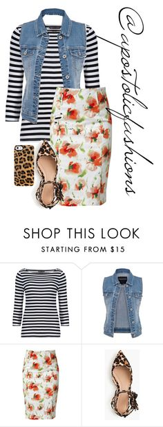 """Apostolic Fashions #1341"" by apostolicfashions on Polyvore featuring M&S, maurices, Raxevsky, J.Crew and Uncommon"