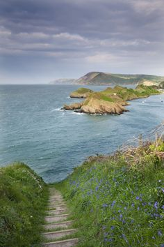 Devon, England. - Runs coast to coast, lush countryside, national parks, and Celtic ruins.