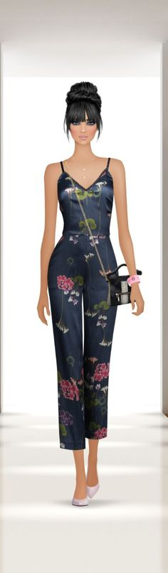 Covet Fashion, Women's Fashion, 3d Girl, Fashion Drawings, Casual Chic, Puzzles, Jumpsuit, Couture, Stylish