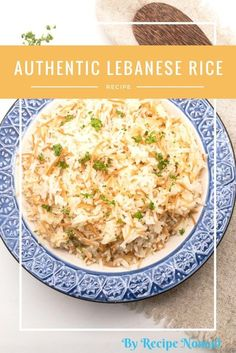 You know you're a Lebanese cooking goddess once you've mastered Authentic Lebanese Rice! Authentic Lebanese Rice | Recipe Nomad