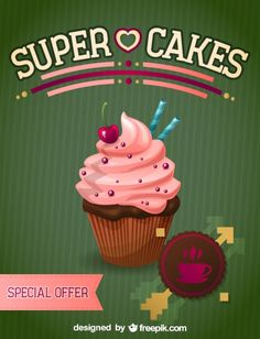 Cupcake free illustration