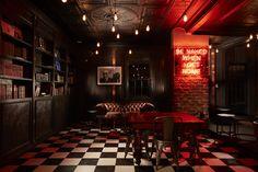 Johannesburg speakeasy Hell's Kitchen summons the devilish glamour of 1920s New York...  http://www.we-heart.com/2015/02/25/hells-kitchen-johannesburg/