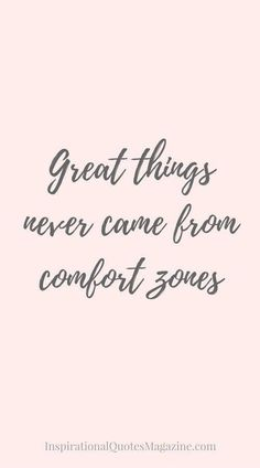 Quotes About Strength : QUOTATION – Image : Quotes Of the day – Description #morningthoughts #quote Great things never came from comfort zones Sharing is Power – Don't forget to share this quote ! https://hallofquotes.com/2018/05/08/quotes-about-strength-1327/