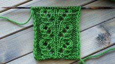 "Openwork Knitting Pattern ""Tropics"" in mirroring Baby Knitting Patterns, Knitting Stitches, Baby Patterns, Stitch Patterns, Crochet Hooded Scarf, Crochet Yarn, Crochet Pattern, Diy Scarf, Lace Scarf"