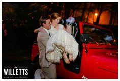 jeep getaway! '#weddingsatheritagegreen wedding party farmhouse garden wedding atlanta tartan Scottish plaid wedding