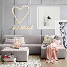Can't wait to get Lyrik's loft lounge done!!! It's not gonna be girly like this though. Same couch though.