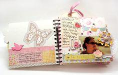 Another gorgeous scrapbook! #DIY #Crafts