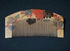Makie comb <Zaimei> | stated Meiji era