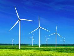 A wind turbine is the popular name for a device that converts kinetic energy from the wind into electrical power. Technically there is no turbine used in the design but the term appears to have migrated from parallel hydroelectric technology. Renewable Energy, Solar Energy, Solar Power, Energy Companies, Energy Services, Solar Panels For Home, Energy Projects, Wind Power, Alternative Energy