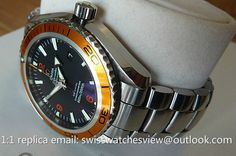 Omega Seamaster Planet Ocean orange bezel 2208.50.00 Omega Seamaster Planet Ocean orange bezel 2208.50.00 [2208.50.00] - $297.00