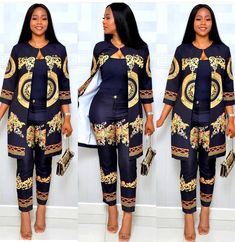 Load image into Gallery viewer, Two Piece African Women& Suit - kats African Fashion Ankara, Latest African Fashion Dresses, African Dresses For Women, African Print Dresses, African Print Fashion, African Attire, African Wear, African Women Fashion, Modern African Fashion