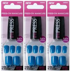 """**FREE OFFER** KISS imPRESS """"HOMEWRECKER"""" by Broadway Press-On Manicure Nails (BUY 3 GET 1 FREE) by Broadway. $24.95. SAFE ON YOUR NATURAL NAILS. BUY 3 GET 1 FREE!!!. NO GLUE NEEDED. 24 NAILS / 12 SIZES PER PACKAGE SAFE ON YOUR NATURAL NAILS NO GLUE NEEDED"""