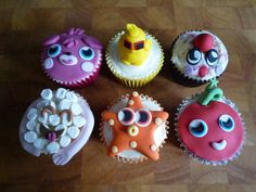 Moshi Monster Cupcakes - Example 1