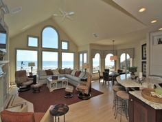 8 Junket - Stunning 6 bedroom home in Palmetto Dunes. Offers direct oceanfront views from almost every room. Palmetto Dunes, Beach Properties, Hilton Head Island, Vacation Destinations, Condo, Villa, Luxury, Bedroom, Places