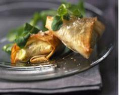 Chaussons de maroilles à la fondue de poireaux (facile, rapide) - Une recette CuisineAZ