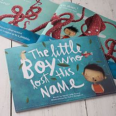 #daysoutwithkids Lost My Name - unusual gifts for the under 5's