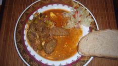 Fotorecept: Diviačie mäso so slaninkou a vajciami Pot Roast, Thai Red Curry, Ale, Cooking Recipes, Ethnic Recipes, Food, Carne Asada, Roast Beef, Beer