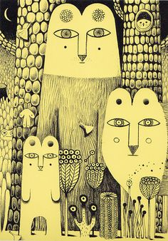 Philip Giordano es un creador de mundos. Eso me gusta mucho en ilustración, y en todo lo demás también.
