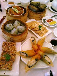 Chinese Dim Sum - lots of restaurants in the International District, plus a museum that is phenomenal.