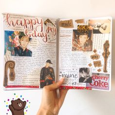 chanyeol birthday spread • bullet journal • exo / kpop journal ♡