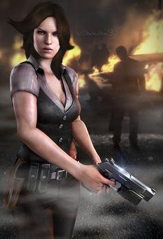 #D.S.O. Agent - Harper by DemonLeon3D on DeviantArt