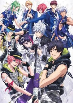 Info B-Project: Kodou*Ambitious: Currently my fav and my most fav reverse harem anime! Please at least watch the very end of episode 1! I literally screamed!❤️❤️ But those abs!! And never ever look up the images of the cv, they destroy the bishies.