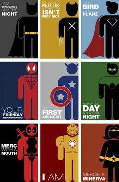 Comic character sayings...