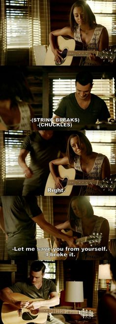 The Vampire Diaries TVD S08E01 - Bonnie and Enzo