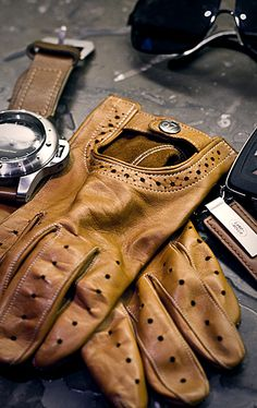 Gloves + Panerai = Good Things