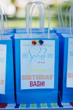 Thanks for making a SPLASH at our birthday bash