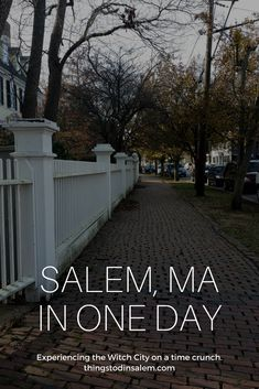 Things to do in Salem, MA. Your guide to the witch city, Haunted Happenings and Salem, MA events. Visit Historic Salem, MA in beautiful New England. Boston Vacation, Vacation Spots, Vacation Club, Dream Vacations, Best Places To Travel, Oh The Places You'll Go, Salem Mass, East Coast Road Trip, New England Travel