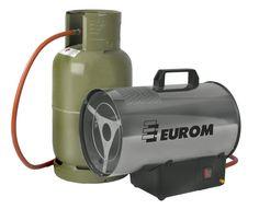 EUROM Heteluchtkanon Type HK15 - Gas (Tijdelijk geen verzendkosten!!) MEGAKLAPPER!!