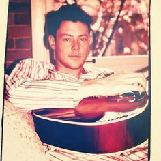 Cory Monteith. ridiculously multifaceted, musically talented.