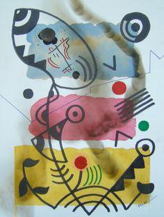 Obra de arte: DENTRO DEL HUMO Artistas y arte. Artistas de la tierra