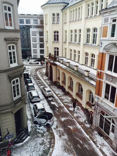 View from Hotel window, Hamburg