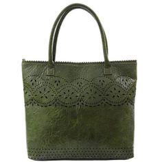 Sassy Grace Tote Forest Green 1842G Gift Wrapping Services, Bath And Body, Sassy, Personal Style, Reusable Tote Bags, Wallet, Purses, Pharmacy, Green