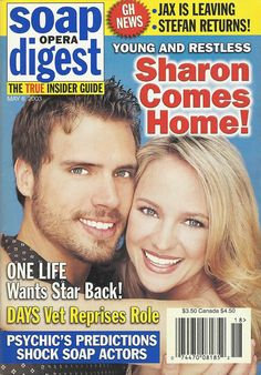 Psychic Predictions, Joshua Morrow, Sharon Case, Soap Opera Stars, Dreams And Nightmares, Love Dream, Young And The Restless, One Life, Screen Shot