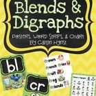 This set has 27 blends and digraphs! Each blend or digraph has two posters and a page with 5 words (with pictures). There is also a chart that has ...