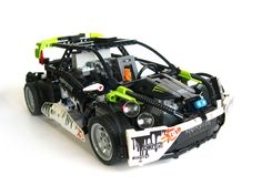 "Lego Technic Ford Fiesta - RC ""Drift""car with building instructions! Remote Control Boat, Radio Control, Jdm, Technique Lego, Nitro Boats, Boat Radio, Rc Drift Cars, Lego Builder, Lego Design"