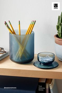 $25 · Beautiful organizers with versatile storage, Allira is made of glass and is available in three varying sizes, each with their own unique color and textured base. Choose to store your items in Allira's bottom compartment or put them on display in the open-top vessel, which is built-in on each one of their removable lids. Vase, Design Moderne, Wall Organization, Jewelry Organization, Next Bathroom, Jewelry Tree, College Dorm Rooms, Small Space Living, Minimalist Bedroom