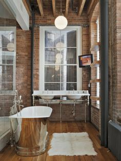 bath Jane Kim Design Eclectic Bathroom バスルーム