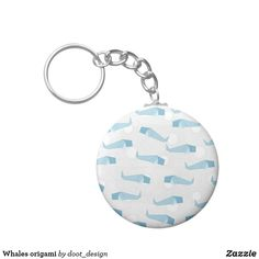 Shop Whales origami keychain created by doot_design. Whale Origami, Whales, Cool Designs, Personalized Items, Cool Stuff, Cool Things, Collar Stays, Whale