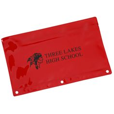 Personalized pencil pouches keep them organized all through the day!