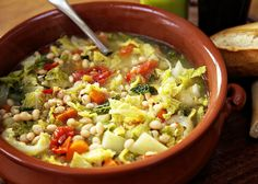 Winter Minestrone - A fabulous well-balanced one-pot, rich in fibre, vitamins and iron.