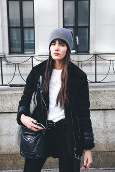 Street Style invitadas New York Fashion Week   Galería de fotos 7 de 31   GLAMOUR