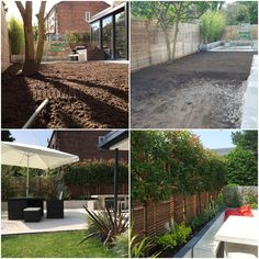 #tbt Before and after transformation in #Heatonmoor 😍  For more information on our projects and services visit our website at www.dreamscapegardens.net  #landscaping #garden #transformation #gardendesign #moderngardens #designandbuild #cheshiregardens #heretohelp Garden S, Garden Design, Landscaping, Website, Plants, Projects, Instagram, Plant, Landscape Architecture