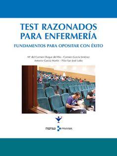LIBROS DVDS CD-ROMS ENCICLOPEDIAS EDUCACIÓN EN PREESCOLAR. PRIMARIA. SECUNDARIA Y MÁS: LIBRO : TEST RAZONADOS PARA ENFERMERIA.