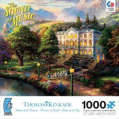 Thomas Kinkade - The Sound of Music - 1000 Piece Jigsaw Puzzle